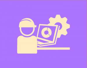 Icono de obrero trabajando